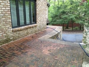 Brick patio cleaning and restoration services york pennsylvania
