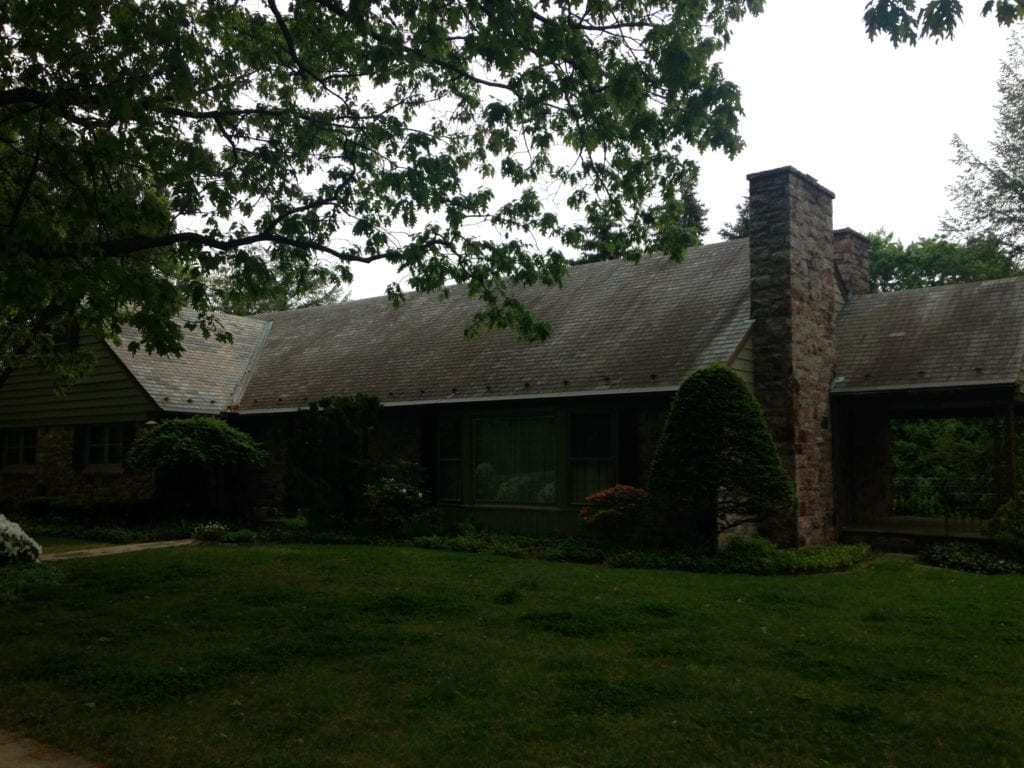 Slate roof cleaning willow street pa