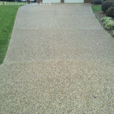 Every part of your property influences curb appeal - but your driveway and hardscapes are key players. Envirowash brings Driveway Cleaning solutions to our neighbors in the greater Tidewater area.