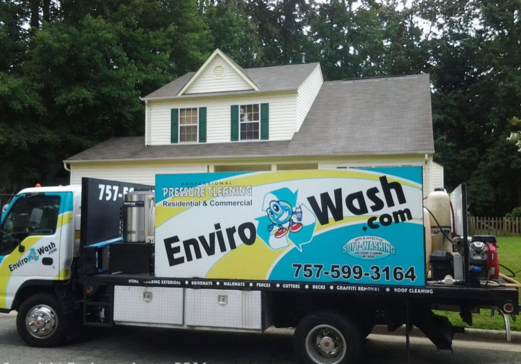 Roof Cleaning & Roof Stain Removal After